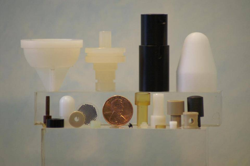 Plexiglass, Acrylic, Vespel, Lexan, Teflon, A.B.S. and other plastics